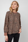 REEVES - MOUNTAIN LEOPARD SWEATER