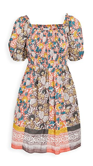 TARIA JAIPUR BLOCK  DRESS