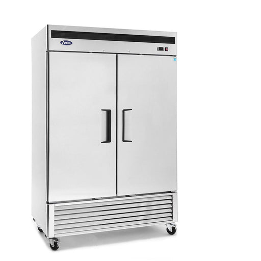 "Atosa MBF8507GR Two Door 54"" Reach-In Refrigerator Bottom Mount Series"