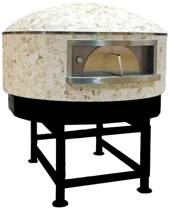 "Univex DOME47GV Stone Hearth GVizza dome oven, 47"" interior, domed/round exterior"
