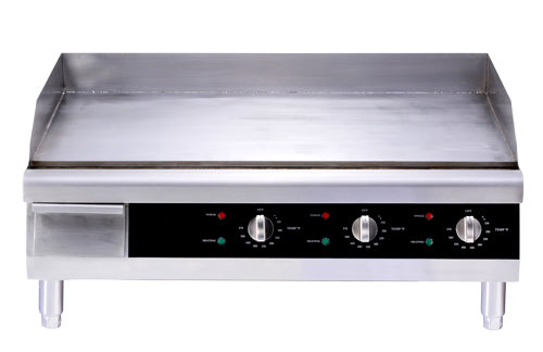 Omcan CE-CN-0766 30-inch Countertop Stainless Steel Electric Griddle 43214