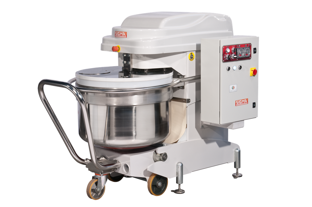 Univex SL250RB 330 Quart Silverline Spiral Mixer with Removable Bowl