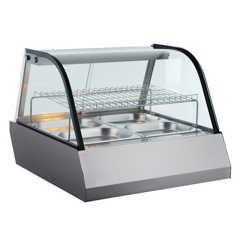 BakeMax BMCHB42 Titan Series Heated Full Service Display Case