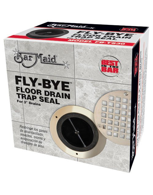 Bar Maid FB-TS20 FLY-BYE Floor Drain Trap Seal for 2-Inch Drains - RestaurantStock.com