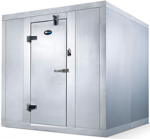 "Amerikooler QC080877 Dynasty Walk-in Cooler, 8' x 8' x 7' 7"", Indoor, With Floor, Remote Condenser, Fast Shipping"
