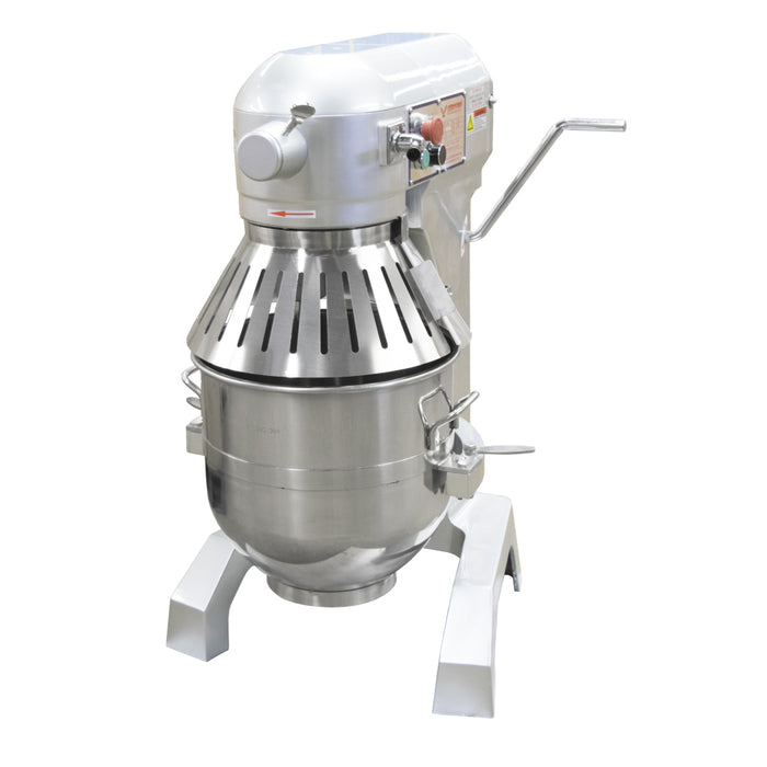 American Eagle AE-300A 30 Quart Gear Driven Planetary Mixer with Safety Guard, 1.5 HP, 3 Speeds