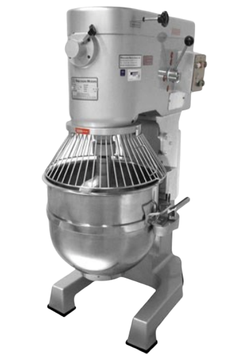Dutchess DUT/M-140W 140 Quart Planetary Mixer w/Elec Lift, 208-240/60/3, 6HP, 16.3 amps (Floor Model)