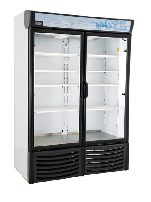 Pro-kold DURF 32 W Two Door Display Freezer