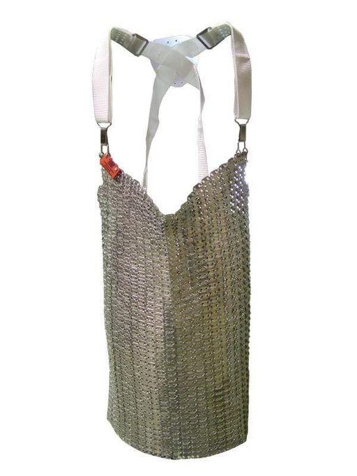 "Omcan 13533  20"" x 20"" Stainless Steel Mesh Apron"