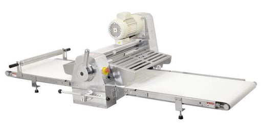 Omcan BE-CN-2083-CSS Stainless Steel Table Top Dough Sheeter with 108-inch Conveyor Length and 0.5 HP 42154