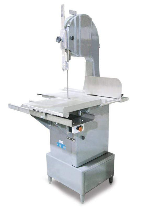 "Omcan BS-VE-2489-E floor band saw with 98"" blade length and 2 hp motor"