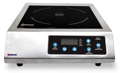 Omcan CE-CN-1800 1.8 kW Stainless Steel Commercial Countertop Induction Cooker 24429