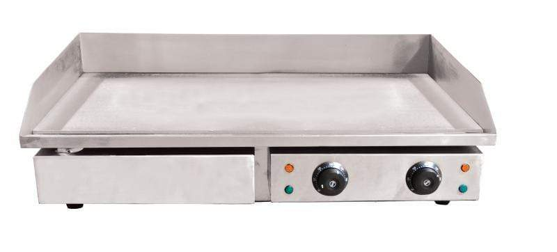 "Omcan CE-CN-4400 29"" Electric Griddle, Stainless Steel Body"