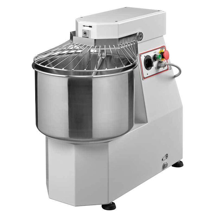 Omcan MX-IT-0020 Heavy-duty Spiral Dough Mixer with 40 lb. capacity 13163