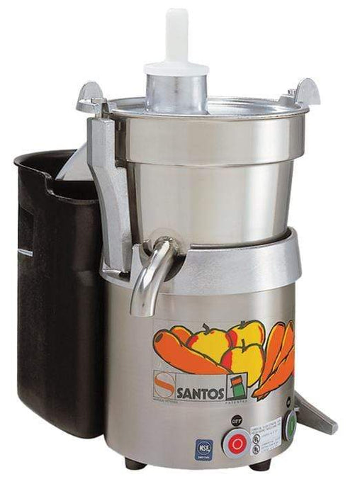 Omcan SANTOS 28 fruit and vegetable juice extractor