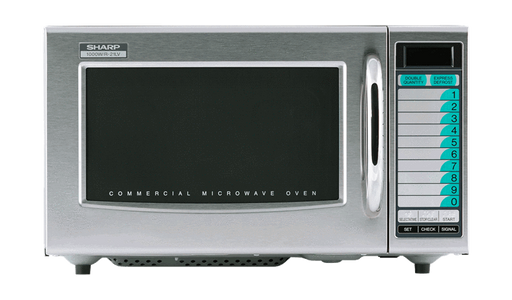 Sharp R-21LTF Medium Duty Commercial Microwave with 1000 Watts