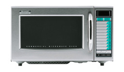 Sharp R-21LVF Medium Duty Commercial Microwave with 1000 Watts