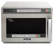 Sharp R-CD1800M Twintouch Commercial Microwave with Dual Touch Pads