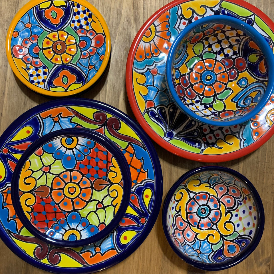 Talavera Dinnerware and Accessories