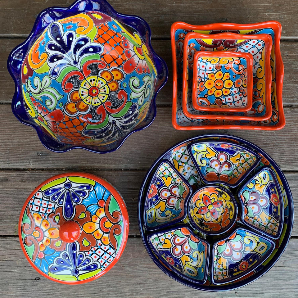 Talavera Serving Pieces