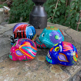 Mexican Sugar Skull - Set of Four Fam
