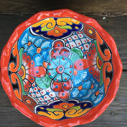 Talavera Salad Bowl
