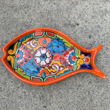 Talavera Fish Plate Set
