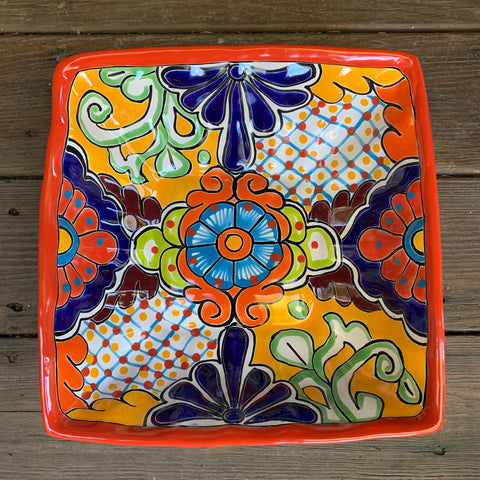 mexican talavera bowl