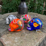 Mexican Sugar Skull - Set of Four Mini