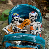 mexican catrina skeltons