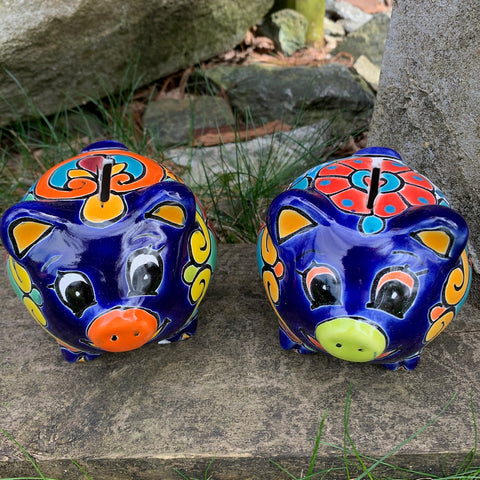 talavera piggy bank