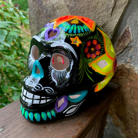sugar skull lumineria