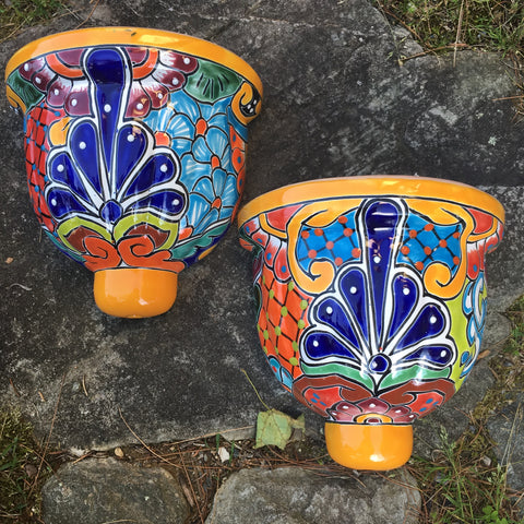Mexican Talavera Wall Planter