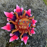 Vibrant Floral Sun Pink Small