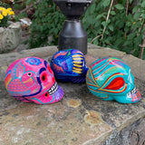 Mexican Sugar Skull - Set of Three