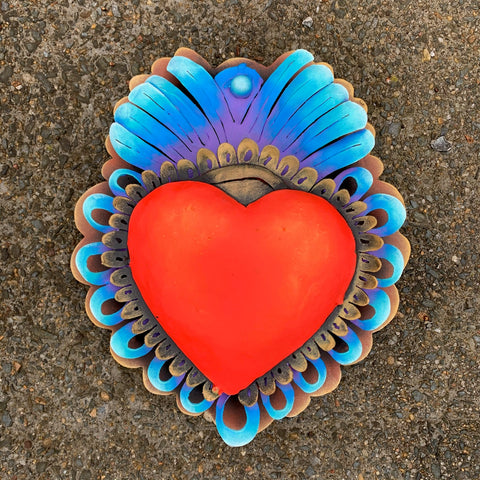 Heart Wall Sculpture