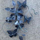 Butterfly Floral Sculpture