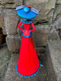 Catrina Metal Art Doll Large