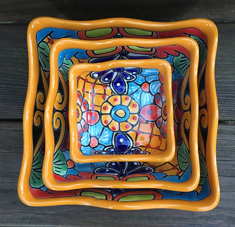 Nesting Bowl Set Square