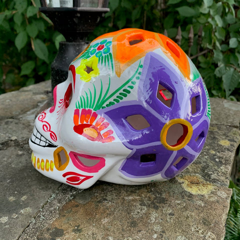 Mexican Sugar Skull - Lumineria