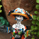Mexican Catrina with Butterflies