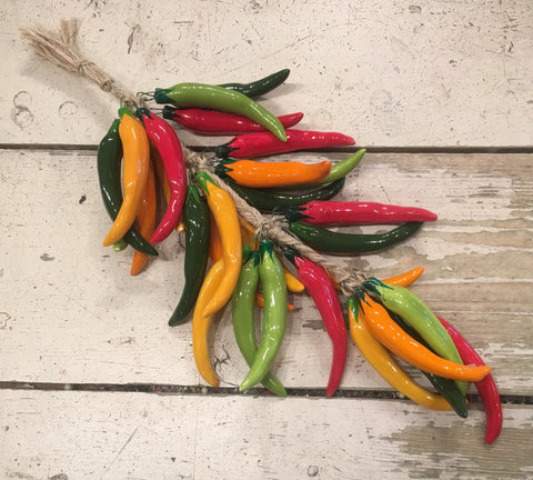 CHILI PEPPERS! Multi Color