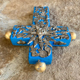 milagros charms cross