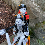 Catrina Couple Ghost Rider Motorcyclist
