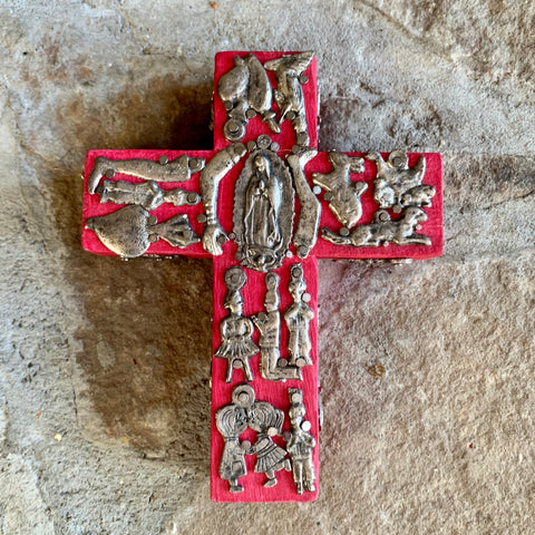 milagaros charm cross wood