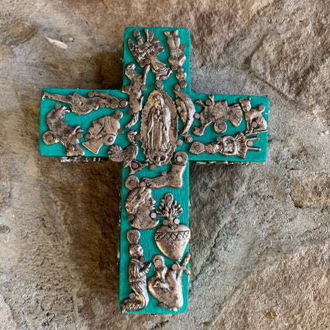 milagros cross guadalupe