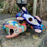 Talavera Pottery Squirrel Set