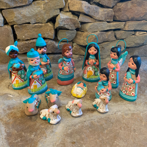 Mexican Nativity Set - Chico