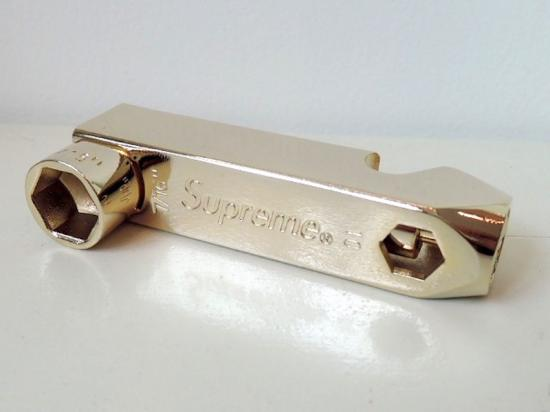 Supreme Skate Tool / Pipe Piece - Gold FW 2006