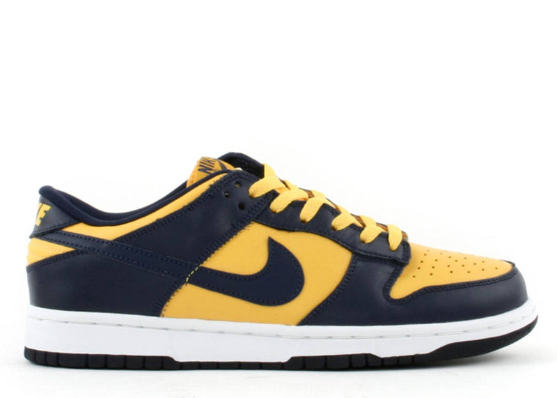 "Nike Dunk Low ""Michigan"" 1999"